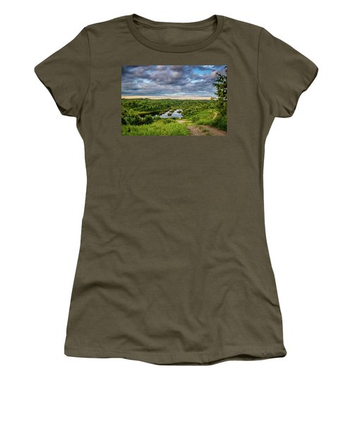 Kentucky Hills And Lake Women's T-Shirt