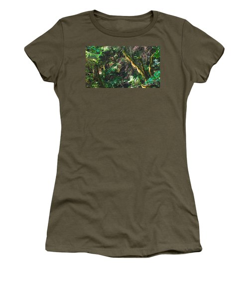 Ketchikan Green Women's T-Shirt (Athletic Fit)