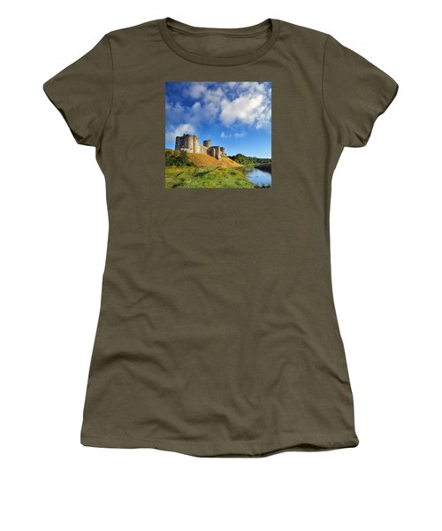 Kidwelly Castle 1 Women's T-Shirt (Athletic Fit)