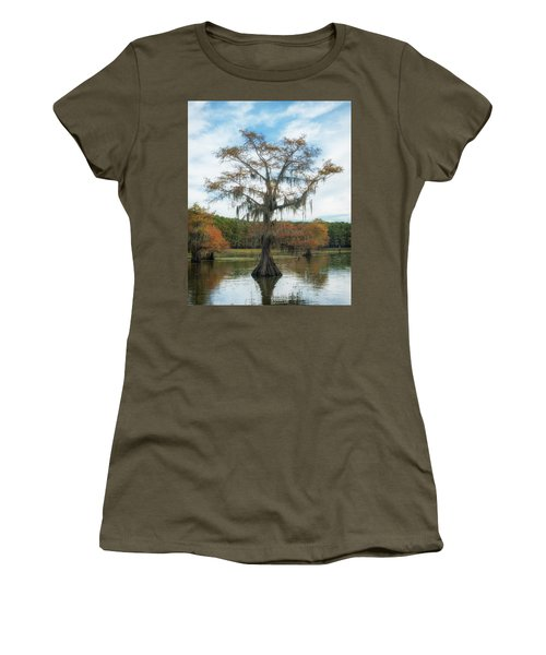 King Cypress Women's T-Shirt (Athletic Fit)