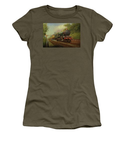 King In Sonning Cutting. Women's T-Shirt (Athletic Fit)