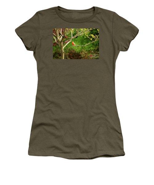 King Parrot Women's T-Shirt (Athletic Fit)