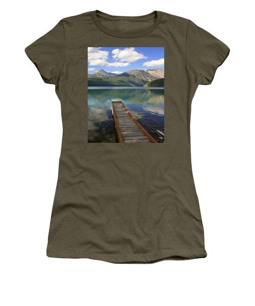 Kintla Lake Dock Women's T-Shirt