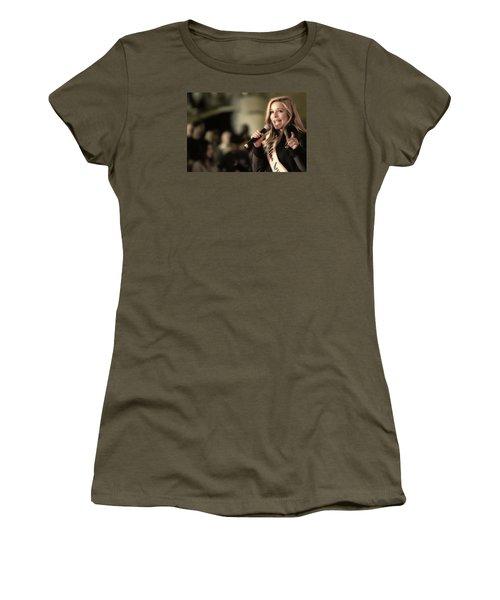 Kira Kazantsev Women's T-Shirt (Junior Cut) by John Swartz