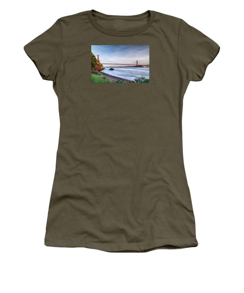 Kirby Cove Beach Women's T-Shirt