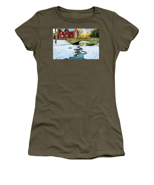 Kirby's Mill Landscape - Creek Women's T-Shirt