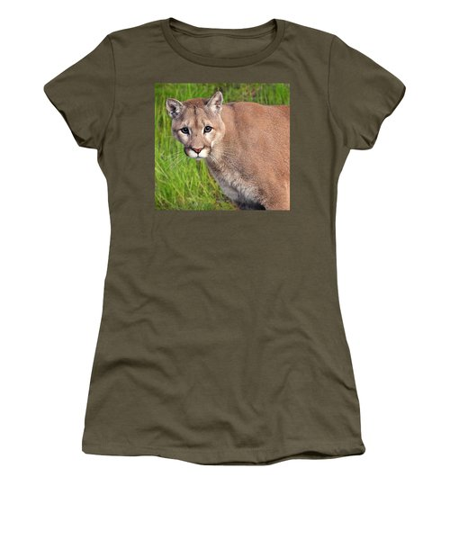 Kitty Look Women's T-Shirt (Athletic Fit)