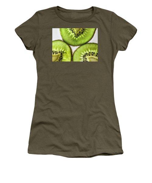 Kiwi Women's T-Shirt (Junior Cut) by Shirley Mangini