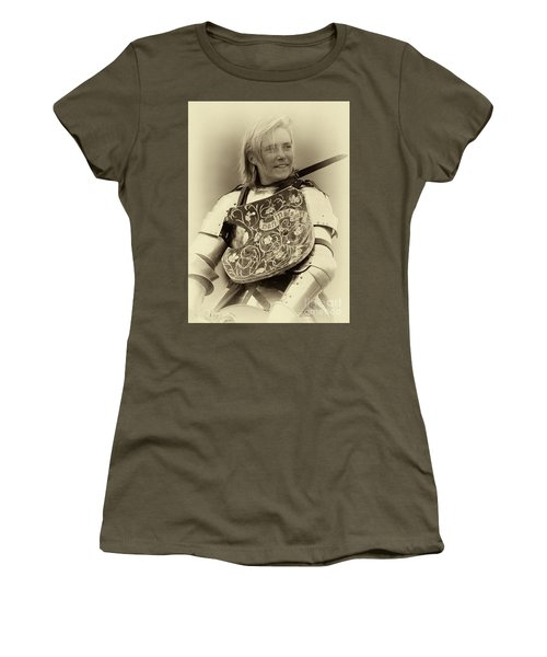 Knights Of Old 17 Women's T-Shirt (Junior Cut) by Bob Christopher
