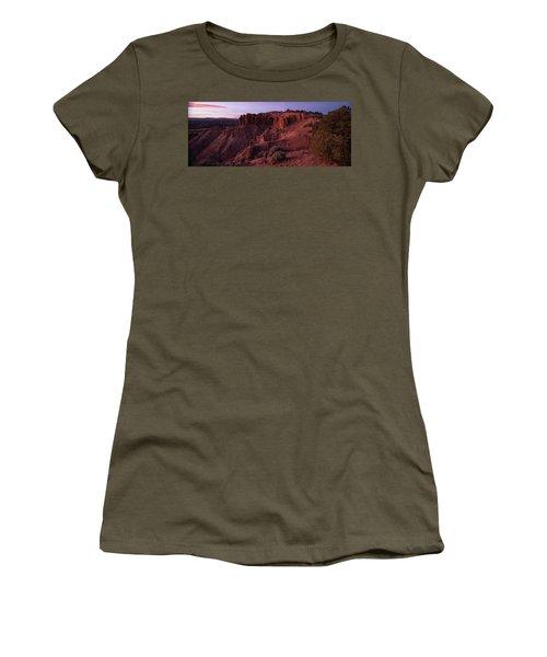 Kodachrome Basin State Park Utah Sunset Women's T-Shirt (Athletic Fit)