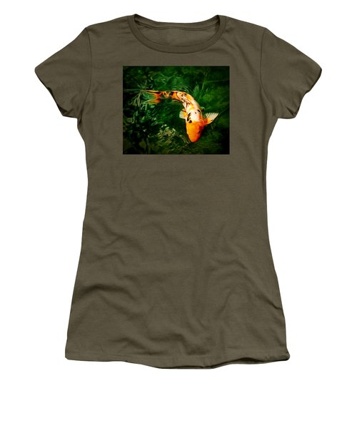 Koi Women's T-Shirt (Junior Cut) by Anton Kalinichev