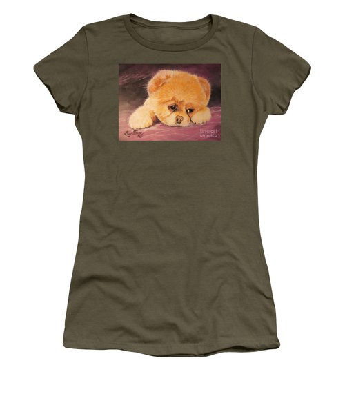 Flying Lamb Productions     Koty The Puppy Women's T-Shirt (Athletic Fit)