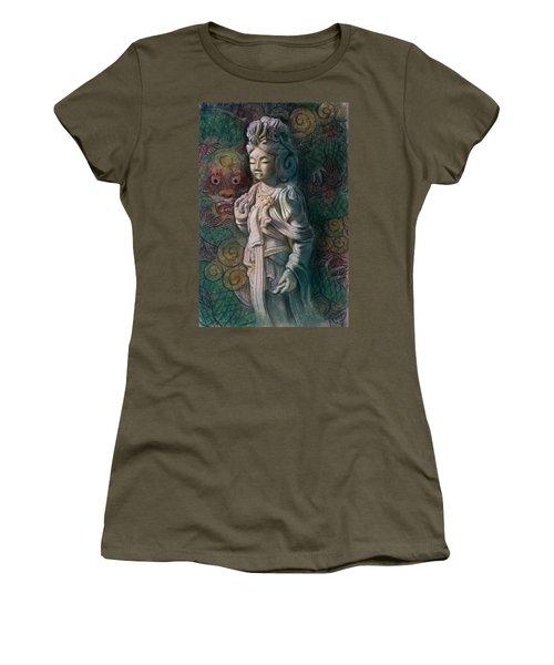 Kuan Yin Dragon Women's T-Shirt