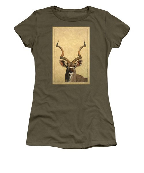 Kudu Women's T-Shirt (Junior Cut)