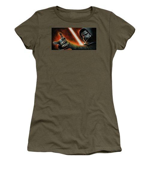 Kylo Ren Women's T-Shirt (Athletic Fit)