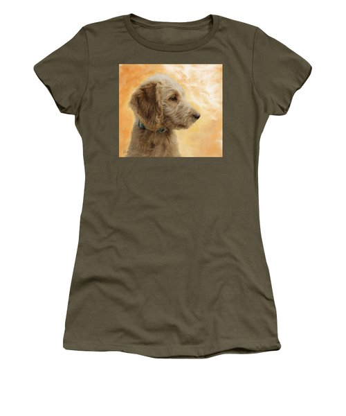 Labradoodle Puppy Women's T-Shirt