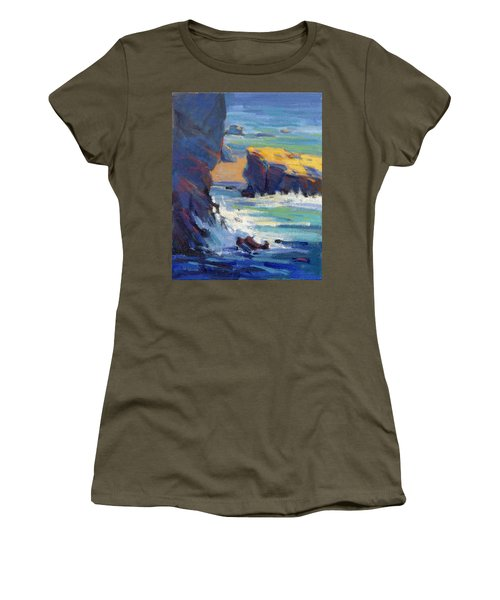 Laguna Rocks Women's T-Shirt (Athletic Fit)