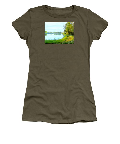 Lake And Woods Women's T-Shirt (Junior Cut) by Craig Walters