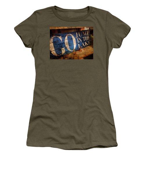 Lake Charm Women's T-Shirt (Junior Cut)