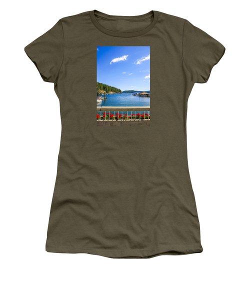 Lake Coeur D'alene Idaho Women's T-Shirt