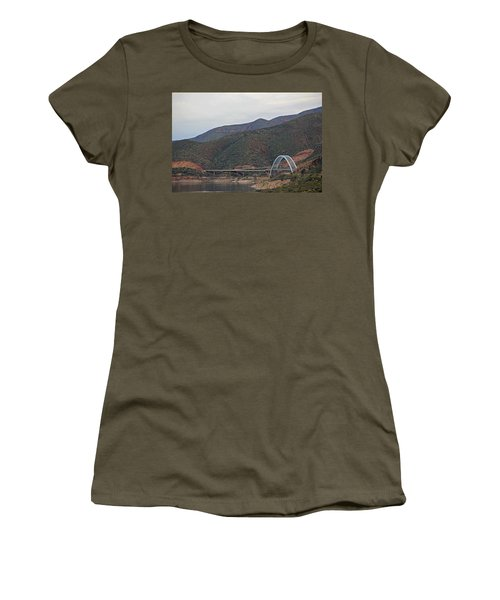 Lake Roosevelt Bridge 2 Women's T-Shirt
