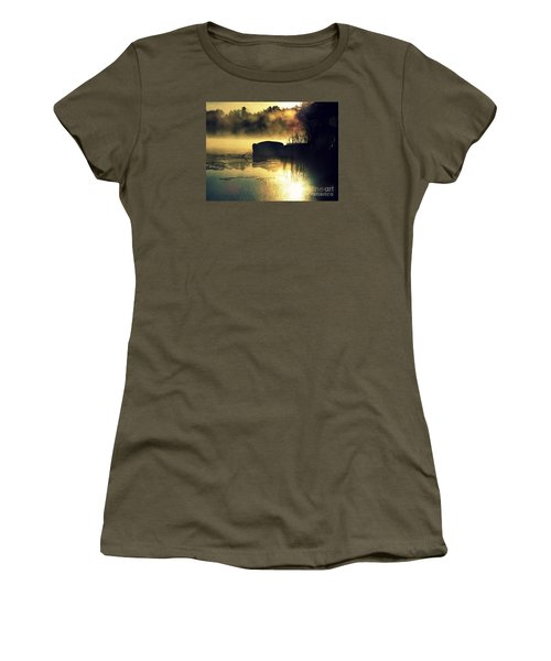 Lakeshore Women's T-Shirt (Junior Cut) by France Laliberte