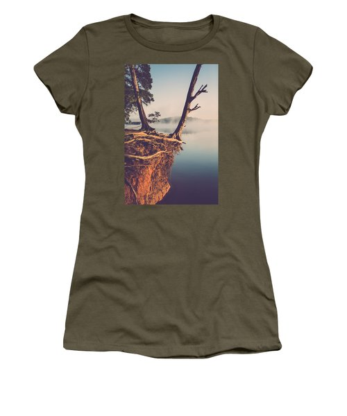 Lakeside Cliff Women's T-Shirt