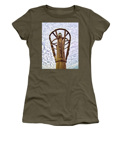 Women's T-Shirt (Athletic Fit) featuring the photograph Land Buoy No 6 by Gary Slawsky