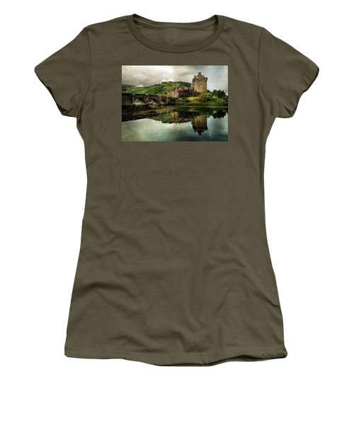 Landscape With An Old Castle Women's T-Shirt