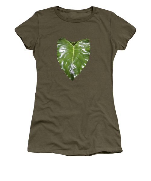 Large Leaf Transparency Women's T-Shirt