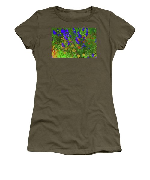 Larkspur And Primrose Garden 12018-3 Women's T-Shirt (Athletic Fit)