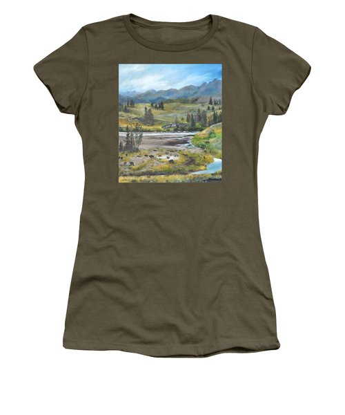 Late Summer In Yellowstone Women's T-Shirt