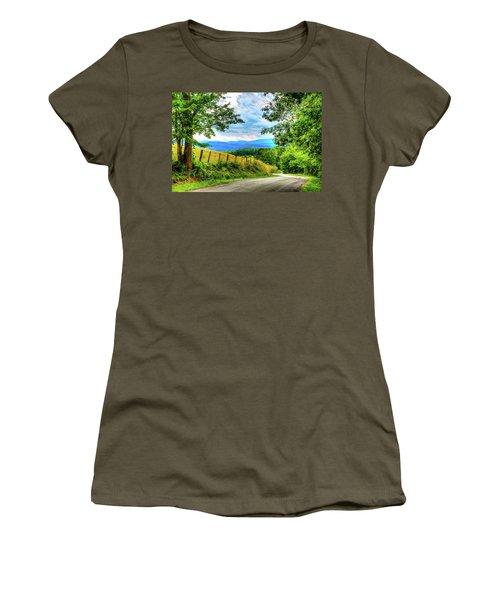 Laurel Hill View Women's T-Shirt (Athletic Fit)