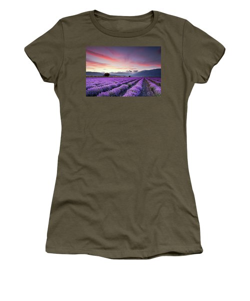 Lavender Season Women's T-Shirt
