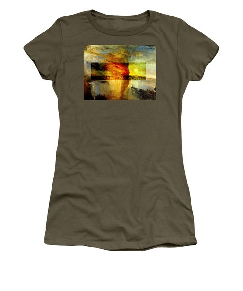 Layered 12 Turner Women's T-Shirt (Junior Cut) by David Bridburg