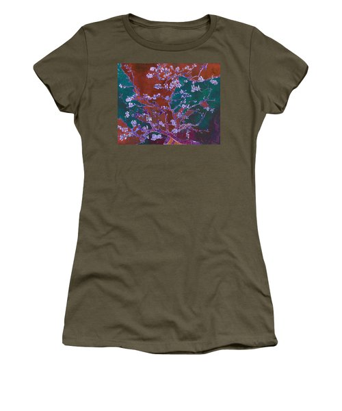 Layered 2 Van Gogh Women's T-Shirt (Athletic Fit)