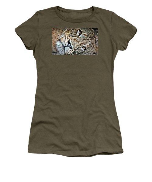Lazy Lion Women's T-Shirt (Athletic Fit)
