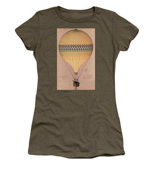 Le Tricolore 2 Women's T-Shirt (Athletic Fit)