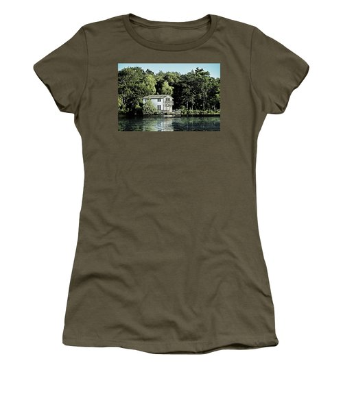 Leacock Boathouse Women's T-Shirt (Athletic Fit)