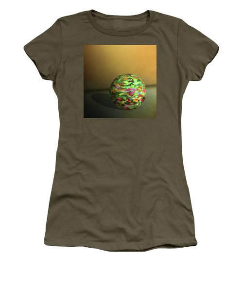 Leaf Ball -  Women's T-Shirt (Athletic Fit)