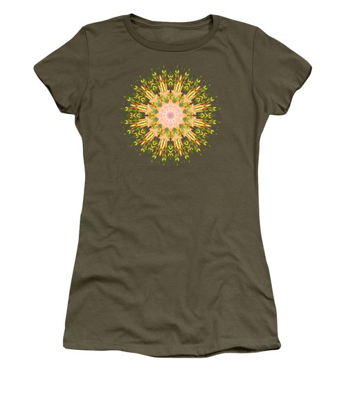 Leaf Nouveau Women's T-Shirt (Junior Cut) by Mary Machare