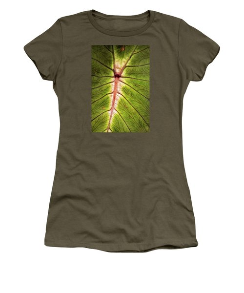 Leaf With Veins Women's T-Shirt
