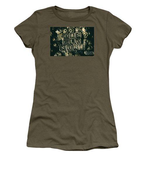 Learning Blocks Of Disclosure Women's T-Shirt