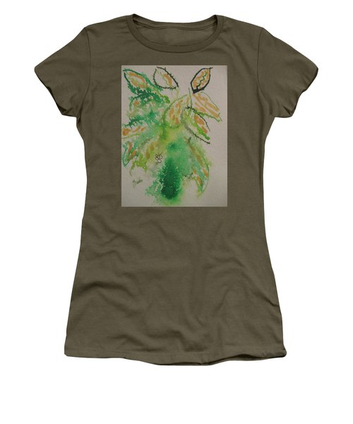 Leaves Women's T-Shirt (Junior Cut) by AJ Brown