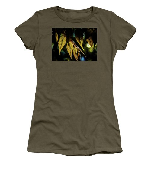 Leaves Of Green Women's T-Shirt (Athletic Fit)