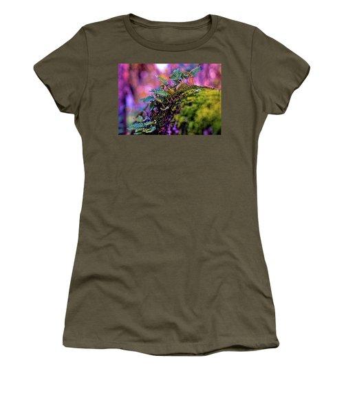 Leaves On A Log Women's T-Shirt
