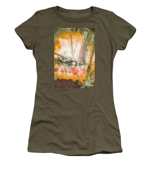 Leaving The Woods Women's T-Shirt (Junior Cut) by William Wyckoff