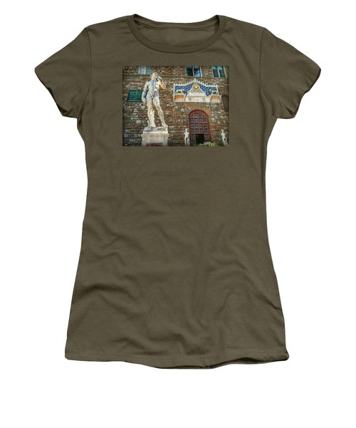 Women's T-Shirt (Athletic Fit) featuring the photograph Legal Nudity by Hanny Heim
