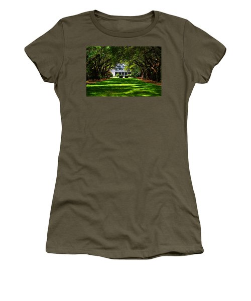 Legare Waring House Charleston Sc Women's T-Shirt (Athletic Fit)