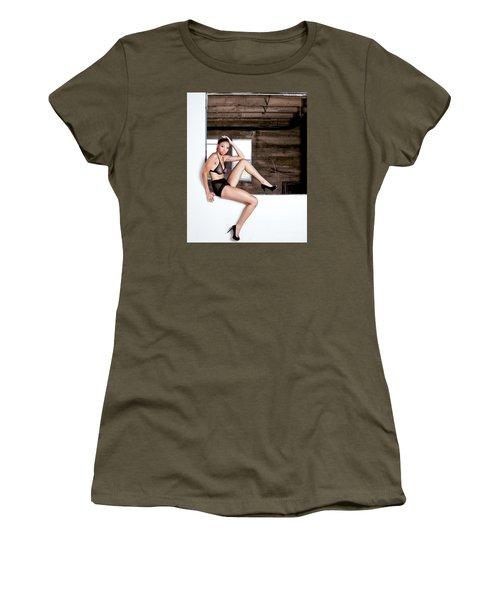 Legs II Women's T-Shirt (Junior Cut) by Gregory Worsham